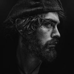 Photo KX by Lee Jeffries on Lee Jeffries, Dark Photography, Portrait Photography, Truck Senior Pictures, Galleries In London, Black And White Portraits, French Art, Cool Eyes, Les Oeuvres