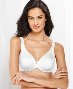 Lilyette by Bali Super Cool Comfort Minimizer Bra 834 - White 42C
