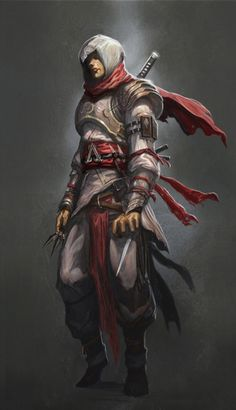 """Next Assassins Creed should be set in feudal Japan. Since ninja is already sort of an assassin in Japan, made him look like mix of samurai and ninja but still attain that """"assassin"""" look. Please U ..."""