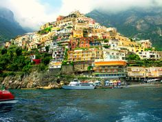 Positano, Italy.....anyone going to Italy needs to visit the Amalfi Coast it is such a beautiful place.