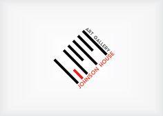 Johnson House art gallery Re-branding on Behance
