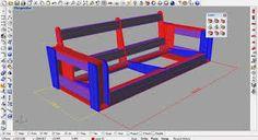 Resultado de imagem para sofa curvo estrutura