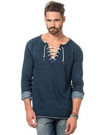 Adrian Hammond - Vincent Sweater Indigo