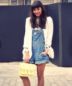 How To Wear Overalls As A Grown-Up <3
