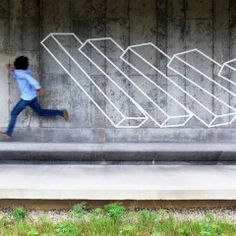 Aakash Nihalani arte urbano geometrico