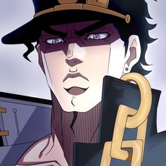 [Fanart] Jotaro in the artstyle of first season of anime Jojos Bizarre Adventure Jotaro, Jojo's Bizarre Adventure Anime, Jojo Bizzare Adventure, Otaku Anime, Anime Manga, Anime Guys, Jojo Bizarre, Bizarre Art, Jotaro Joestar