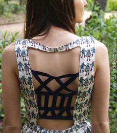Dare to DIY: Proyecto DIY: strappy dress