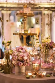 Stunning wedding flowers by Zita Elze at the Aashni + Co Wedding Show