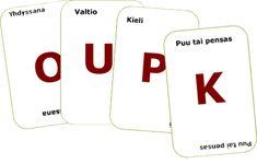 Keksi kortin kirjaimella alkava sana