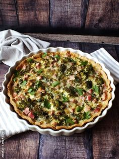 Quiche Lorraine, Food And Drink, Cooking, Breakfast, Recipes, Kitchen, Morning Coffee, Ripped Recipes