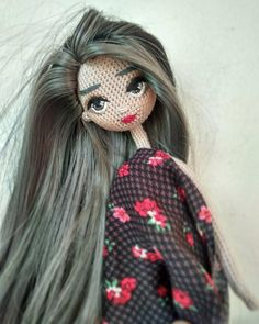 "644 Likes, 10 Comments - Daily doll pics 2 inspire you (@1000crochetdolls) on Instagram: ""Handmade by @mini.sofini """