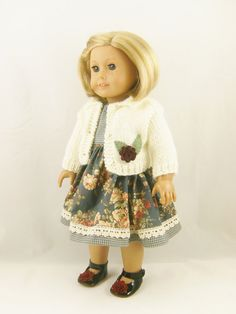 18 Inch Doll Clothes Fits American Girl Cream by dressurdolly2