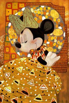 Minnie Klimt by Zimeta on DeviantArt