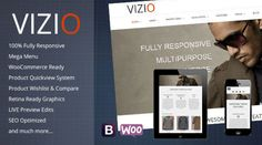 Vizio Mojothemes Multipurpose e-Commerce Ready WP Theme