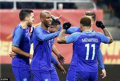 Highlight โรมาเนีย 0-3 เนเธอร์แลนด์ ไฮไลท์ฟุตบอลวันนี้กระชับมิตร Romania 0-3 Netherlands Friendly