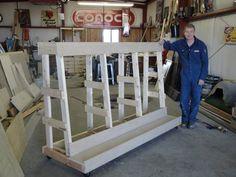 Wood Storage Rack - by mikeho @ LumberJocks.com ~ woodworking ...
