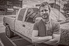 Dierks Bentley with a little mud. EdRode.com Amazing #Nashville