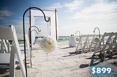 If you are planning to get married on a beach, I have the best location for you in my head. How about having a beach wedding in Florida; Florida is a lavishing place and one can go there again and again. Specifically Key West is my favorite place in Florida. A Florida beach wedding sounds more fun than any other wedding.
