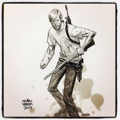The Walking Dead - Rick Grimes by Andrew Robinson *