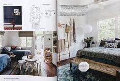 House and Garden, April 2018 - Renovation Special, Featured Bangalow Project. Divider, Garden, Projects, Room, House, Furniture, Home Decor, Log Projects, Bedroom