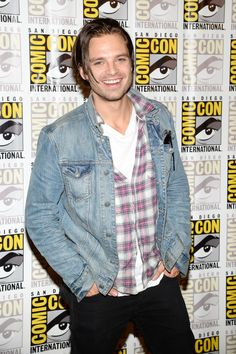"Sebastian Stan Photos - Actor Sebastian Stan attends Marvel Studios' ""Thor: The Dark World"", ""Captain America: The Winter Soldier"" and ""Guardians of The Galaxy"" during Comic-Con International 2013 at Hilton San Diego Bayfront Hotel on July 20, 2013 in San Diego, California. - Arrivals at the Marvel Panel at Comic-Con"