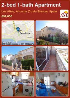 Apartment for Sale in Los Altos, Alicante (Costa Blanca), Spain with 2 bedrooms, 1 bathroom - A Spanish Life