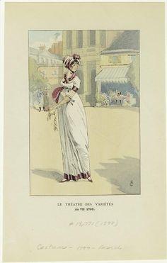 Fashion Plate   c. 1799