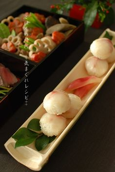Japanese food / 手まり寿司