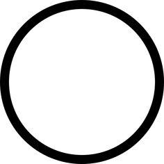 Círculo contorno icono gratuito   Free Icon #Freepik #icon #freecirculo #freegeometrico #freeforma #freeaplicacion Circle Outline, Circle Borders, Circle Template, Circle Shape, Svg Shapes, Free Shapes, Overlays, Fond Design, Png Transparent