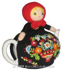 Ravelry: Matryoshka Tea Cosy Crochet pattern by Loly Fuertes