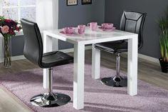 CAVA-ruokailuryhmä (CAVA-pöytä 80x80cm+2 PIANO-tuolia musta) - Ruokailuryhmät ja pöydät | Sotka.fi