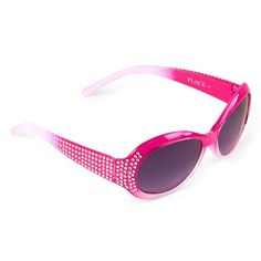 Girls Embellished Ombre Sunglasses - Pink - The Children's Place