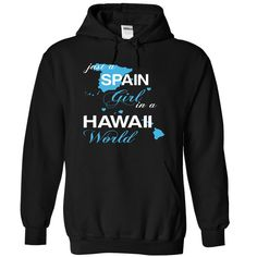 SPAIN HAWAII T-Shirts, Hoodies. VIEW DETAIL ==► https://www.sunfrog.com/Camping/SPAIN-HAWAII-Black-Hoodie.html?id=41382