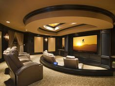 Arabian Inspired Theater : Audio Video Interiors : Home Theaters : Pro Galleries : HGTV Remodels