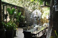 The Outdoor Patio at Lisa Vanderpump's SUR Lounge