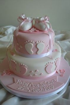 & The post Tolle Babyparty-Kuchen! & & baby kuchen appeared first on Event Planung France . Tortas Baby Shower Niña, Gateau Baby Shower, Baby Shower Parties, Baby Shower Themes, Baby Shower Decorations, Shower Ideas, Shower Baby, Girl Shower Cake, Baby Shower Cake For Girls