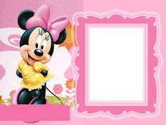 Disney Babies Clip Art | Molduras/Máscaras para foto digital - personagens disney, minie, bety ...