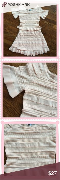 Selling this NWT Bloomingdales Lucy Paris Sweater Skirt Set on Poshmark! My username is: mamaballerina. #shopmycloset #poshmark #fashion #shopping #style #forsale #Bloomingdale's #Dresses & Skirts