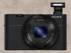 Cyber-shot RX100, da Sony, é câmera pequena para grandes fotos.