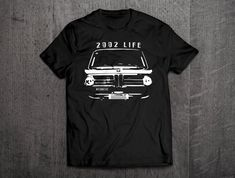 Classic Car News Pics And Videos From Around The World Best Quality T Shirts, Bmw Classic Cars, Bike Shirts, Bmw 2002, Motorcycle Outfit, Tank Top Shirt, Cool T Shirts, Vintage Cars, German