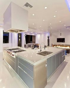 50 Best Kitchen Design Ideas for 2016 More - - dream house luxury home house rooms bedroom furniture home bathroom home modern homes interior penthouse House Design, Luxury Kitchens, Contemporary Kitchen Design, House Rooms, Luxury Homes, House Interior, Modern Kitchen Design, Home Interior Design, Luxury Kitchen Design