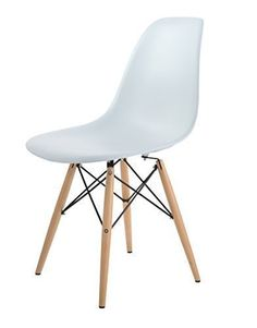 hnnhome chaise inspire eames eiffel dner salon mobilier moderne blanc amazonfr - Model Ede Salon Moderne Blanc