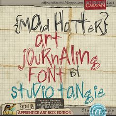 Just got free code for this cute Art Journal from Studio Tangie.