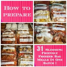 Sugar Pink Food: How to Prepare 31 Slimming World Friendly Freezer ...