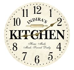 Find the Perfect Country Wall Clock. Rooster Wall Clock, Kitchen Words, Diy Kitchen, Kitchen Decor, Farmhouse Clocks, Indoor Flower Pots, Quartz Clock Movements, Kitchen Wall Clocks, Laundry Room Signs