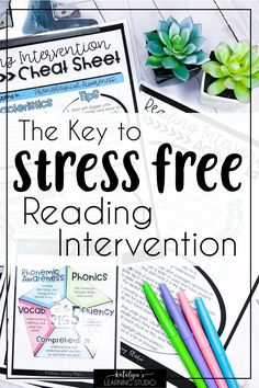 Easily implement reading intervention in elementary education with these teaching tips and tricks. Ideas for helping struggling readers and activities that work for first grade, and grade students. Get a free cheat sheet with strategies and t Phonics Reading, Teaching Reading, Reading Comprehension, Guided Reading, Free Reading, Learning, Reading Binder, Close Reading, 6th Grade Ela