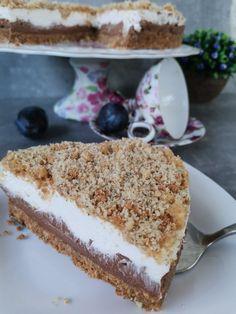 Brze Torte, Kolaci I Torte, Bakery Recipes, Cookie Recipes, No Bake Desserts, Dessert Recipes, Banana Pudding Cheesecake, Torte Recipe, Torte Cake