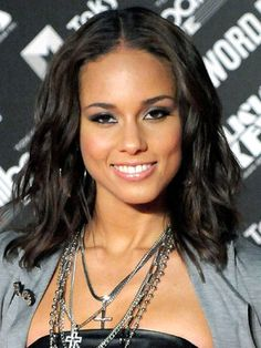 Alicia Keys Hairstyles - January 14, 2010 - DailyMakeover.com