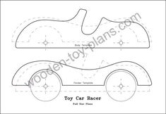Make this simple but delightful roadster with these free toy car plans, complete with step by step instructions, diagrams and photos. Easy to make with basic tools. Toddler Toys, Baby Toys, Kids Toys, Wooden Toy Cars, Wood Toys, Diy Furniture Plans, Doll Furniture, Wood Games, Handmade Wooden Toys
