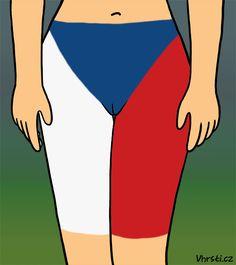 The Czech Republic Czech Republic, Cartoons, Swimwear, Animated Cartoons, Bathing Suits, Cartoon, One Piece Swimsuits, Swimsuit, Comic Book